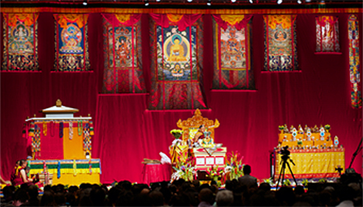 HH Sakya Trizin at the Minneapolis Convention Center 2013