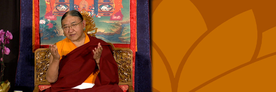Thank You His Holiness Kyabgon Gongma Trichen Rinpoche!
