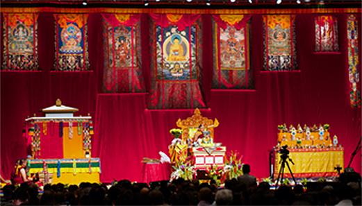 HH Sakya Trizin at the Minneapolis Convention Center 2013