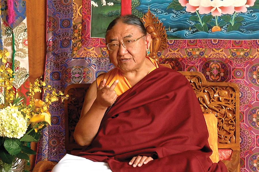 His Holiness the Sakya Trizin
